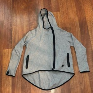 Nike Grey Cape Jacket